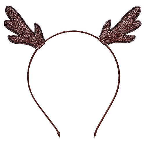 Christmas Glitter Antlers Deer Reindeer Headbands Party Headband Christmas Costume