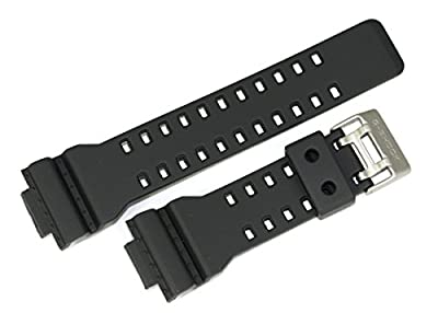 Casio 10455781 Genuine Factory Replacement Resin Band fits GA-100C-8A GA-110TS-1A4 from Casio