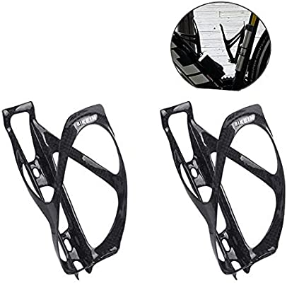 Full Carbon Fiber Ultralight Cycling Bicycle Bike Drink Water Bottle Cage Holder