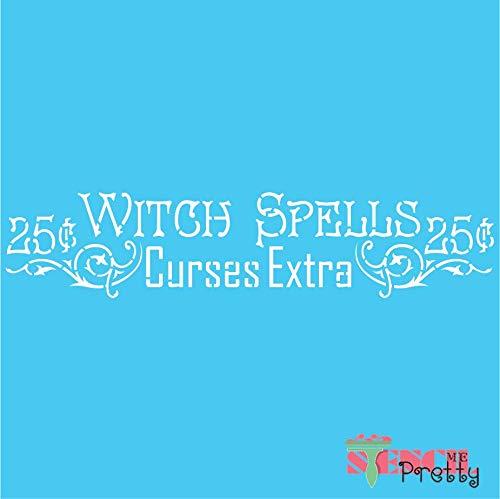 Vintage Halloween - DIY Chic Witch Spells Spooky