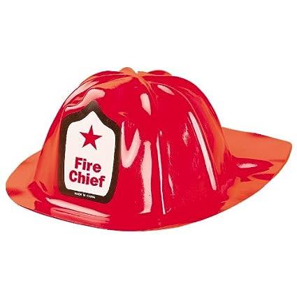 27ccf372 Childs Plastic Fire Chief Hats (1 dz)