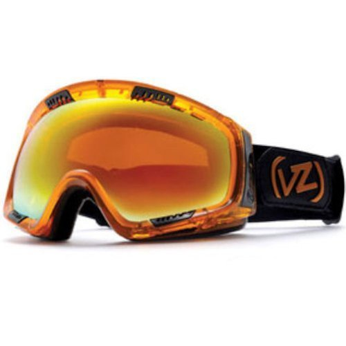 Von Zipper Feenom Snow Goggles One Size Tangerine ~ Fire Chrome by VonZipper