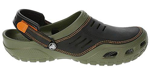 crocs Yukon Sport, Herren Clogs Grün (Army Green/Black 30Q)