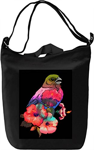 Colourful Bird Borsa Giornaliera Canvas Canvas Day Bag| 100% Premium Cotton Canvas| DTG Printing|