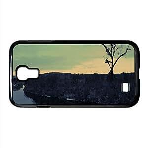 Dead Calm Watercolor style Cover Samsung Galaxy S4 I9500 Case (Winter Watercolor style Cover Samsung Galaxy S4 I9500 Case)