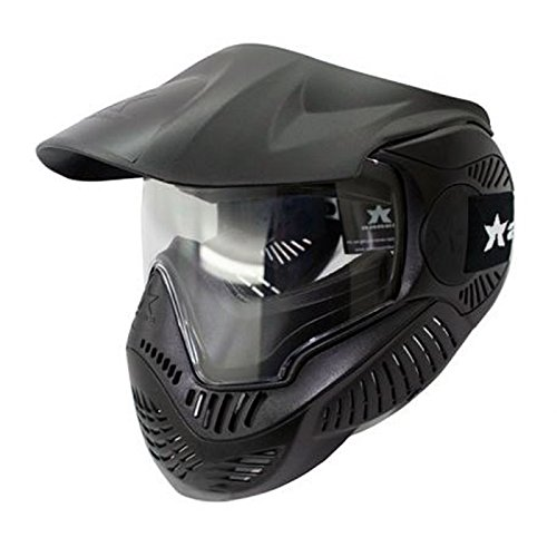Valken Paintball MI-7 Goggle/Mask with Dual Pane Thermal Lens - Black