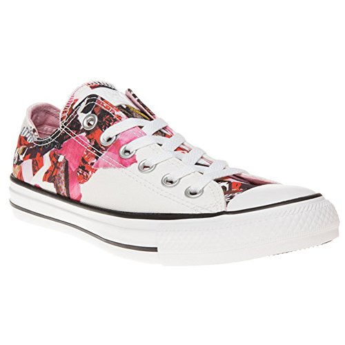 Converse All Star Print Donna Sneaker Bianco