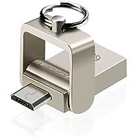UGREEN Android Flash Drive USB 2.0 Micro USB OTG Disk Memory Thumb Drive Keychain (64GB)