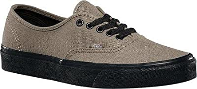 Vans Unisex Authentic (Black Sole) Brindle Skate Shoes VN 03Z3HXN (Men 5/Women 6.5)