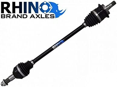 SuperATV Heavy Duty Rhino Brand Front Axle for Polaris Sportsman XP 850 With a 6 Lift Kit 2009+ FRONT Axle