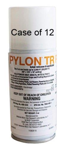 Pylon TR 2oz 12ea Total Release Insecticide / Miticide Chlorfenapyr 4.5% by BASF