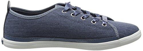 Tommy Hilfiger K1285eira Hg 1d1, Zapatillas para Mujer Azul (Jeans 013)