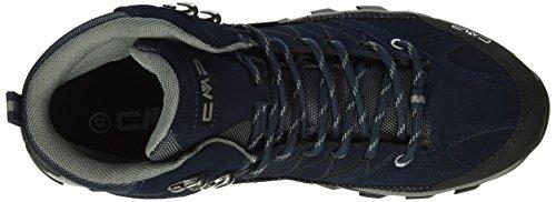C.P.M. Rigel - Zapatillas de senderismo Hombre Azul - Blau (B.Blue-Argento 517Q)