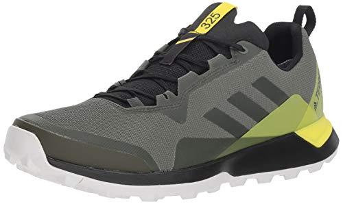 Adidas Outdoor Terrex CMTK GTX - Chamarra para Hombre, Base Green/Night Cargo/Shock Yellow, 10.5 M US