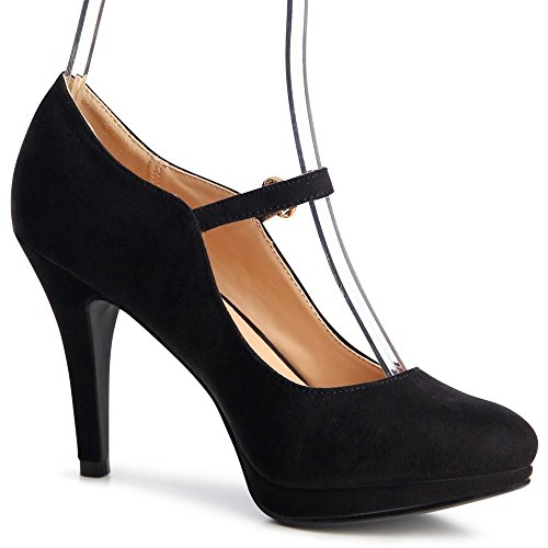 topschuhe24 - Zapatos de vestir para mujer negro