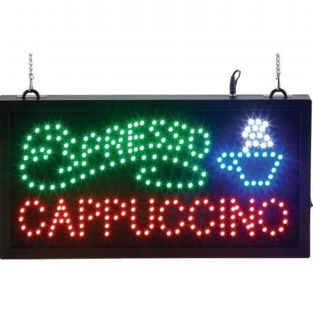 ESPRESSO/CAPPUCCINO LED SIGN -