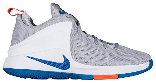 low priced 7da54 b3c91 Galleon - NIKE Mens Zoom Witness Basketball Shoes, Wolf Grey Star Blue-White  8 US