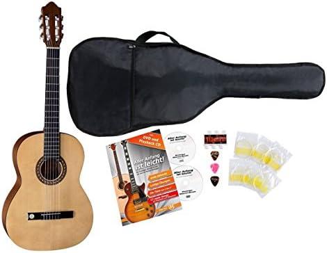 VGS Pro Arte GC de 130 II 4/4 Guitarra de concierto Starter Set ...