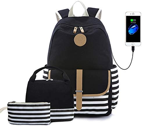 Lmeison Backpack Canvas Bookbags Bakpack product image