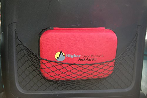 First Aid Kit for Car, SUV and Marine Use | Emergency Medical Kit for Home, Business, Travel, Hiking, Backpacking, Camping and Sports | 130 Pieces | Hard Shell Case | FDA Approved | + Bonus eBook by Higher Gear Products (Image #7)
