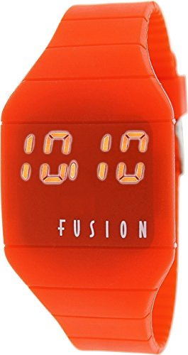 Dakota Men's Quartz Plastic Watch, Color:Red (Model: 51194)