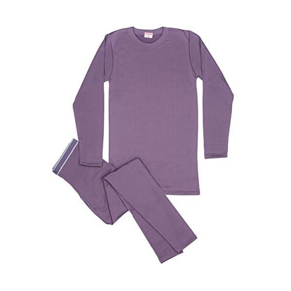 Men's 2pc Thermal Underwear, Top & Bottom Fleece Lined Long Johns - by Rocky