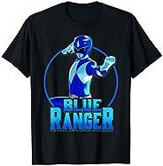 Power Rangers Blue Ranger Simple Portrait T-Shirt