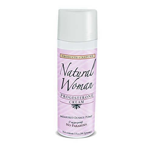 Natural Woman Progesterone Cream Measured Dosage Pump  Technologically Advanced Natural Alternative To Hormone Replacement Therapy  Treats Menopause Symptoms   Pms  Reduces Hot Flashes    Night Sweats  Pregnant Women Love For Reducing Stretch Marks