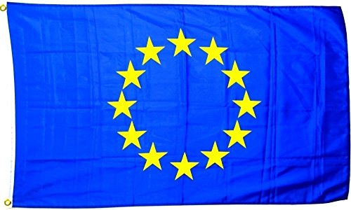 Aszune European Union Flag 53ft/15090cm Polyester Flag Perfect for Outdoor & Indoor Large EU Flag