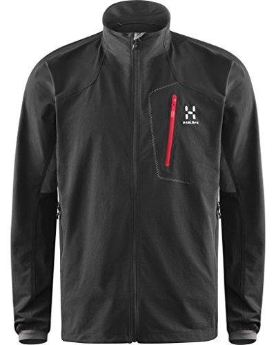Haglofs Veste softshell Lizard II Jacket Homme True Black/Magnetite XX-Large