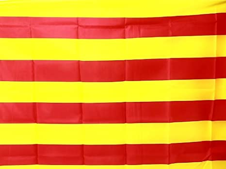 Bandera señera Senyera de Cataluña / catalunya 150x90cm: Amazon.es: Hogar