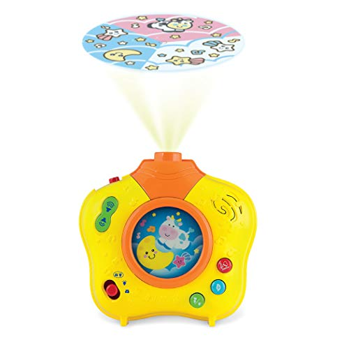 Winfun Baby's Dreamland Soothing Projector, Yellow