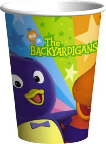 Backyardigans 9 oz. Paper Cups (8 count) (The Backyardigans Games Halloween)