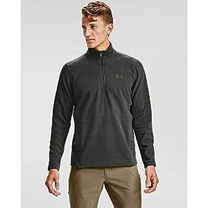 Best Epic Trends 41G0jNi67LL._SS300_ Under Armour Men's Zephyr Fleece Solid Long Sleeve ¼ Zip T-Shirt