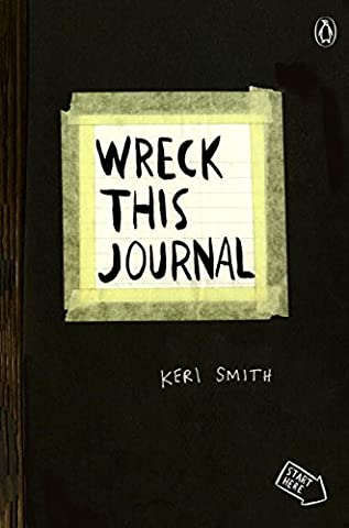 Wreck This Journal (Black) Expanded Edition - Creative Scrapbooking