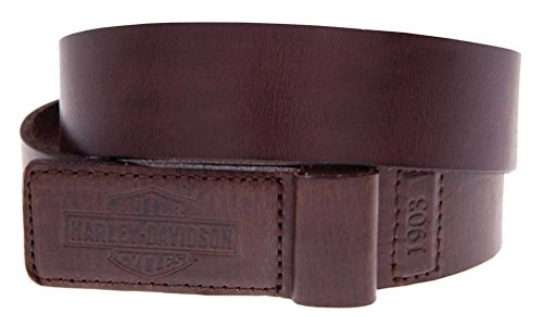 Harley Davidson Mechanics Trademark Covered Leather