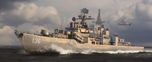 Trumpeter PLAN Chinese Taizhou DDG138 Destroyer (1/350 Scale)