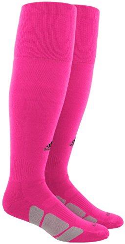 adidas Utility All Sport Socks (1-Pack), Shock Pink/Black/Light Onix, X-Small