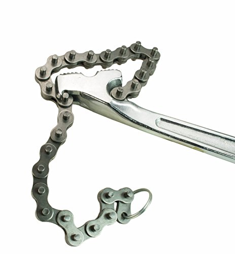 Steel Dragon Tools 12'' Aluminum Chain Pipe Wrench fits RIDGID 40222 16'' Chain 4'' Capacity by Steel Dragon Tools (Image #2)