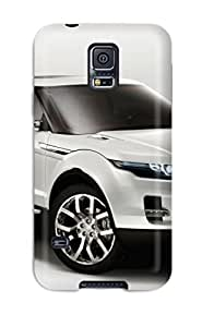 Galaxy S5 Case Cover - Slim Fit Tpu Protector Shock Absorbent Case (land Rover Lrx Concept 4)