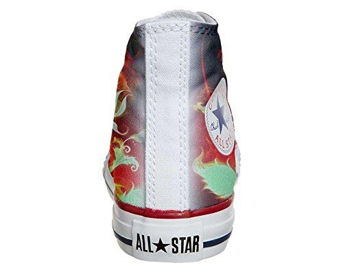 Scarpe Converse All Star personalizzate (scarpe artigianali) Flower
