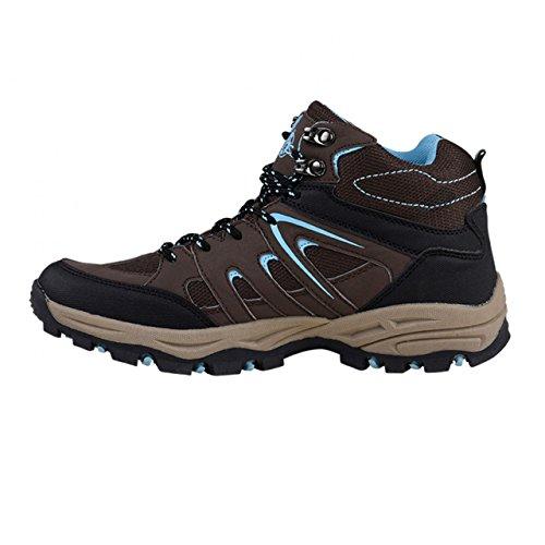 pour bleu randonnée femme de Chaussures HSM Marron basses WAPaRwcq