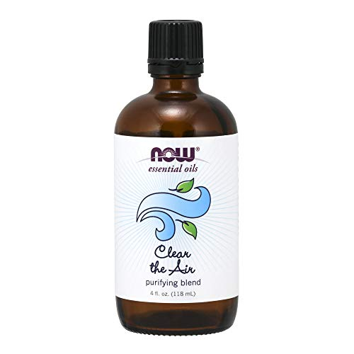 Now Foods Essential Oils, Clear The Air Blend, 4 Ounce ()