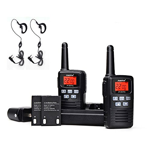 Two Way Radios Rechargeable, Juentai Jp-350 Pro 2 Way Radios Walkie Talkies (25 Range)