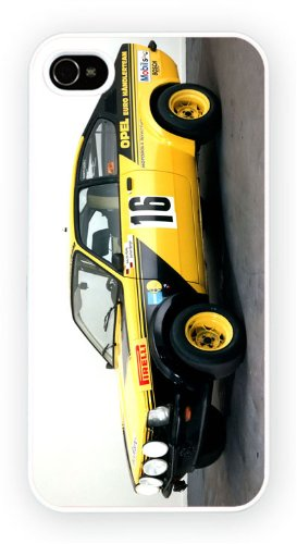 Opel Kadett Rally 1977, iPhone 4 4S, Etui de téléphone mobile - encre brillant impression