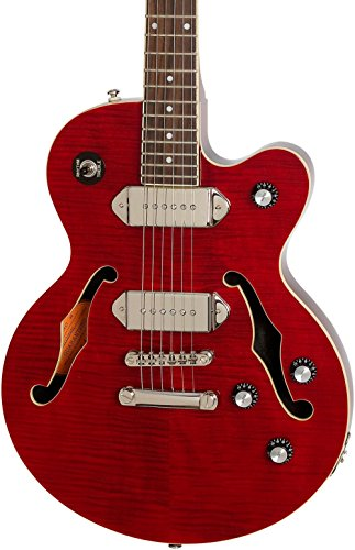Red Studio Guitar (Epiphone Limited Edition Wildkat Studio Electric Guitar Wine Red)