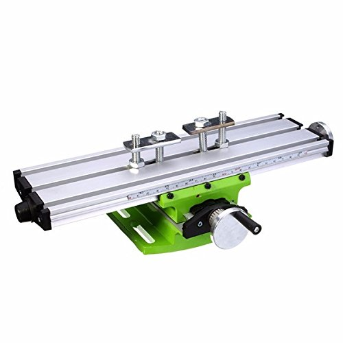 Mini Precision Milling Machine Worktable Multifunction Drill Vise Fixture Working Table Silver