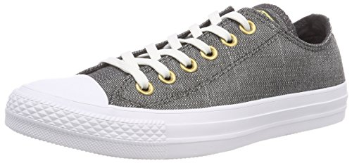 CTAS Ox Almost Black Black Black White Almost Sneaker Schwarz Almost 049 Converse Damen 4axqf5w1