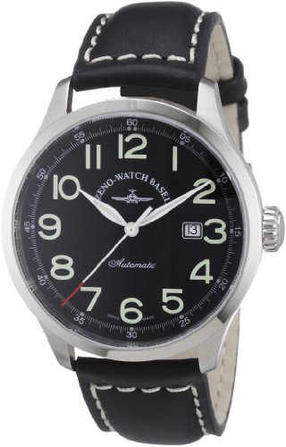Zeno Watch Basel Men's Automatic Watch Retro Tre 6569-a1 with Leather Strap