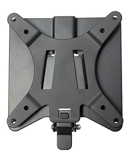 (VIVO Adapter VESA Mount Quick Release Bracket Kit | Stand Attachment and Wall Mount Removable VESA Plate for Easy LCD Monitor and TV Screen Mounting (Stand-VAD2))